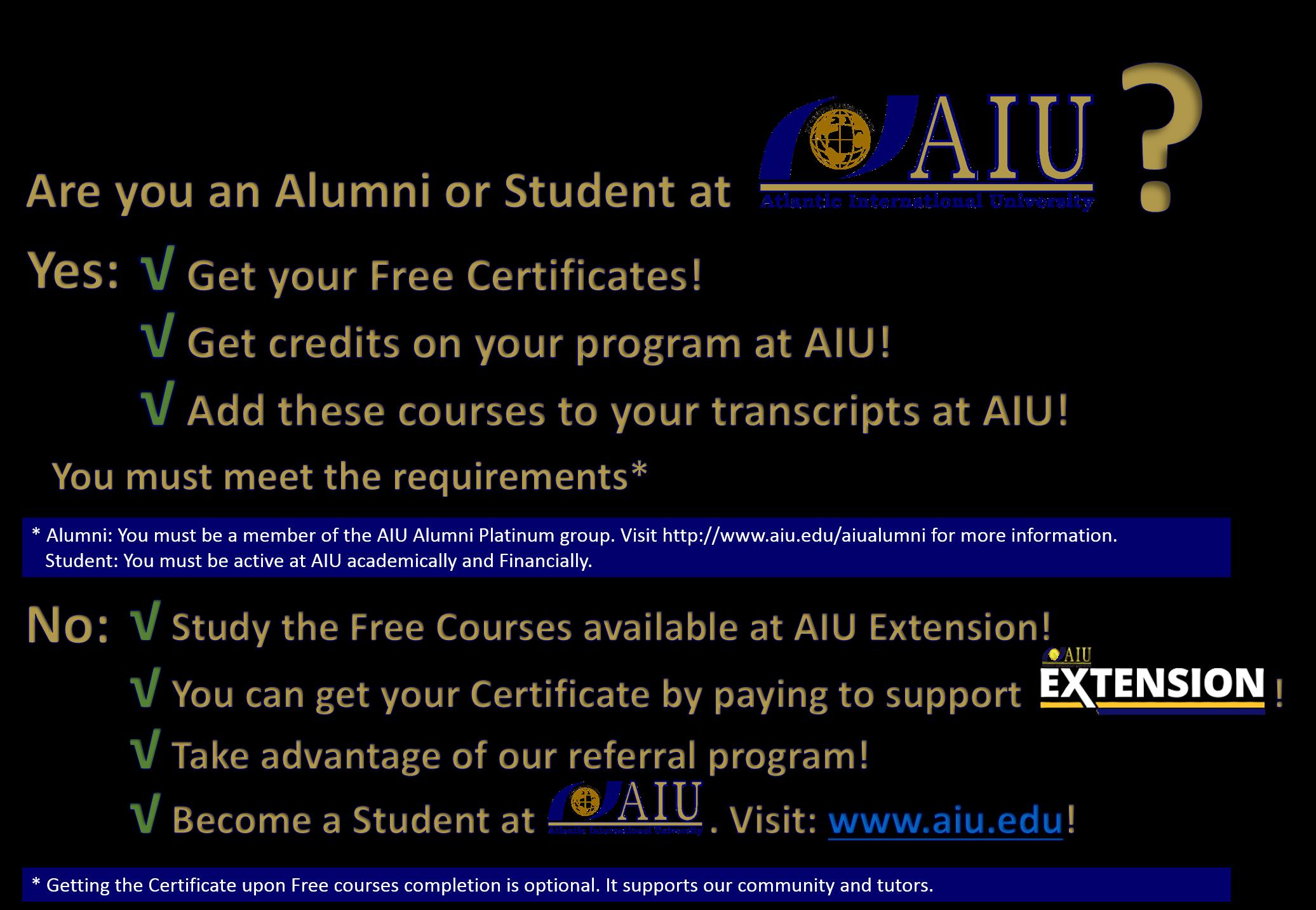 AIU Benefits